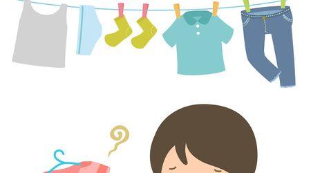 5 mẹo giúp khử mùi hôi quần áo ngày mưa